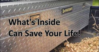 What's inside my vehicle EDC can save lives.