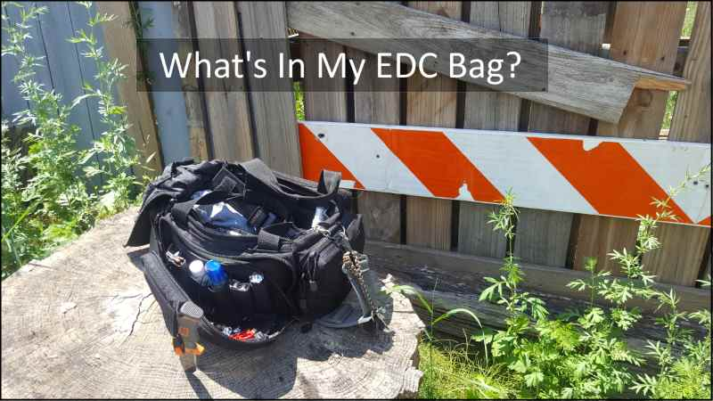 What's In My Get Home / SHTF EDC Bag? 2016