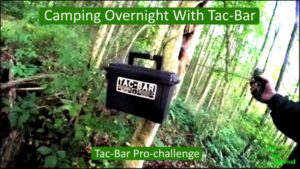 Camping Overnight With Tac-Bar – My Prepper Contest Submission