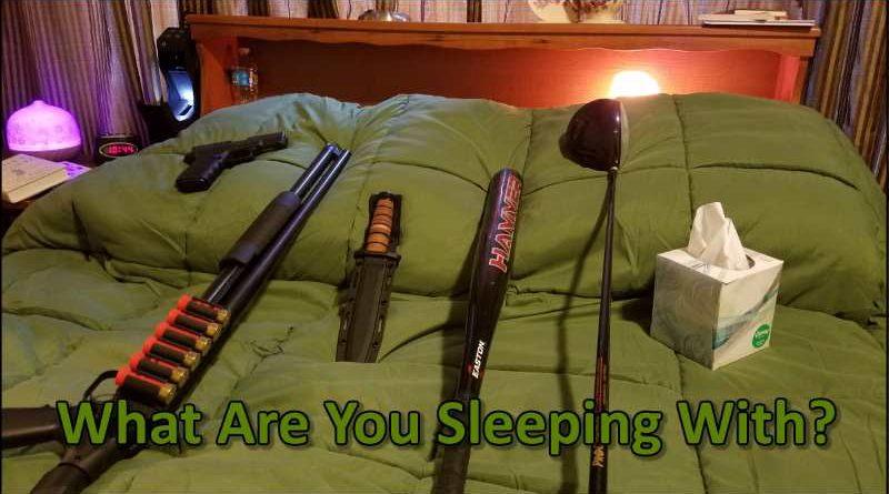 Bedside handguns for home protection