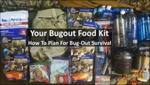 Your Bugout Food Kit – How To Plan For Bug-Out Survival