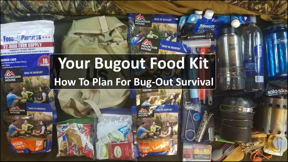 Your Bug Out Food Kit