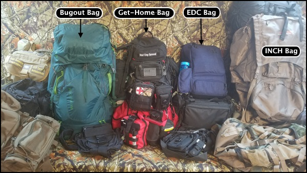 Bugout and other survival bags.