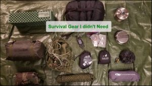 Read more about the article Survival Gear I Didn't Need And Shouldn't Have Bought – A Couple Of Real Examples