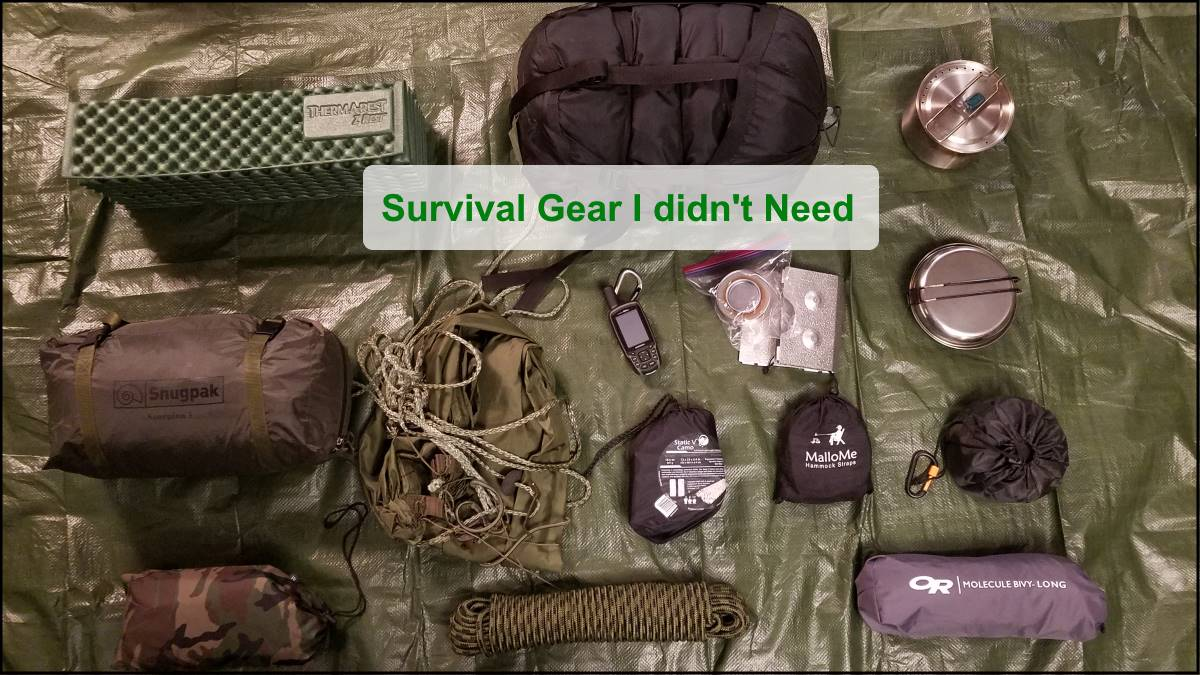 Survival Gear I Didn't Need And Shouldn't Have Bought – A Couple Of Real Examples