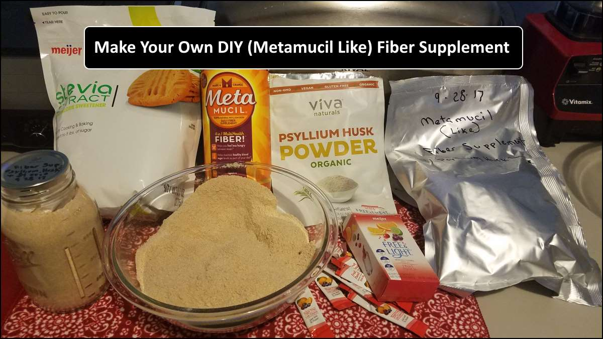 How To Make Your Own Fiber Supplement For Your Prepper Pantry And A SHTF Event