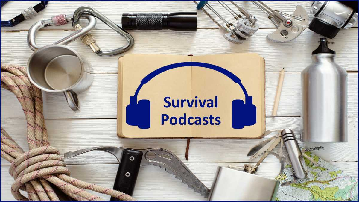 Survival Podcasts I Listen To And Never Miss An Episode