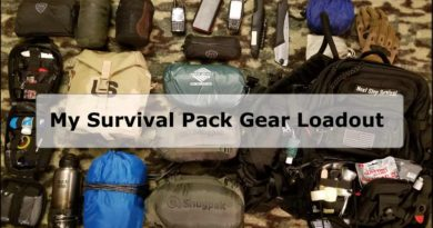 My Survival Pack Gear Loadout