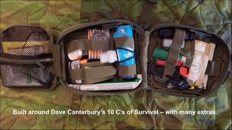 Building Survival Kits - Finished Product