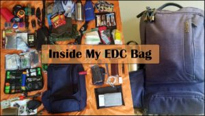 What's Inside My EDC Bag?  Gray Man Every Day Carry – 2017 (w/video)