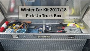 Winter Car Emergency Kit – Pick-Up Truck EDC – 2017/18