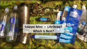 Which Survival Water Filter Should I Use – The Sawyer Mini or the LifeStraw?