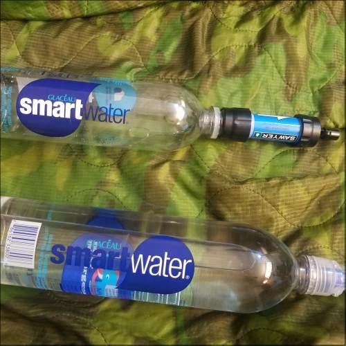Sawyer Mini Survival Water Filter - Smart Water bottle