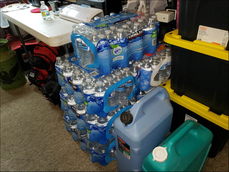 Bottled Water Preps