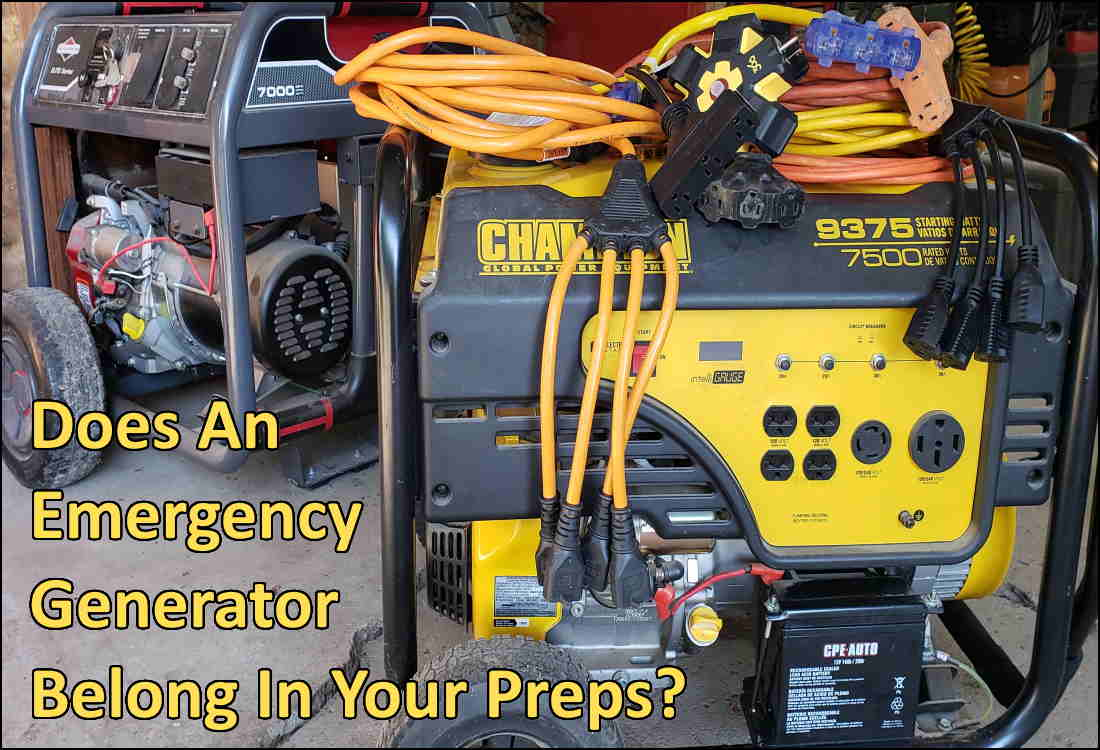 An Emergency Generator – Building A Blackout Kit – Part 1