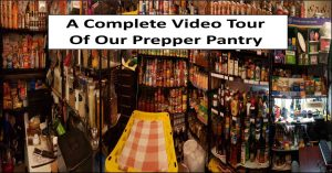 My Prepper Pantry Tour Video – 2020