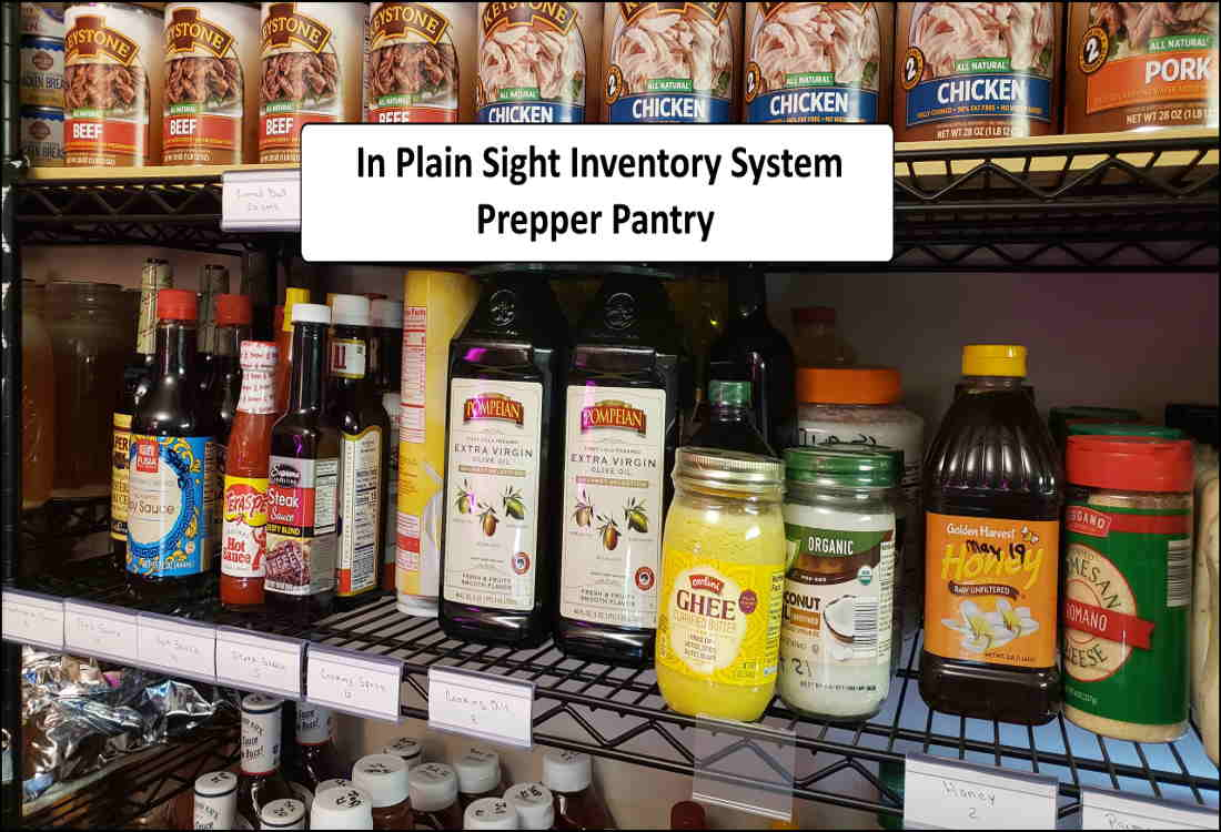 Prepper Pantry Inventory – Plain Sight Inventory System – Video