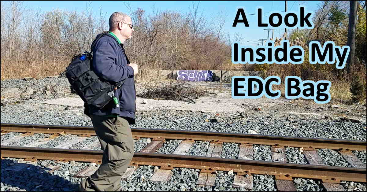 Video – My EDC Bag – A Look Inside – 2020