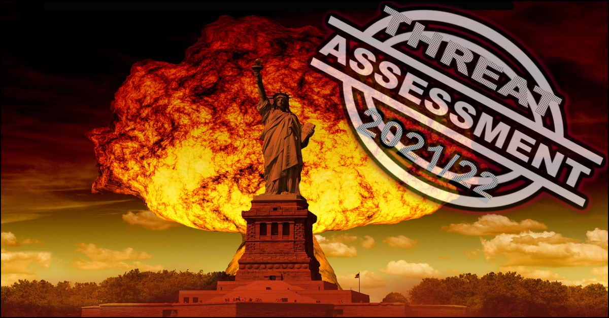 Read more about the article Threat Assessment 2021/22 – What's The Next SHTF Event?