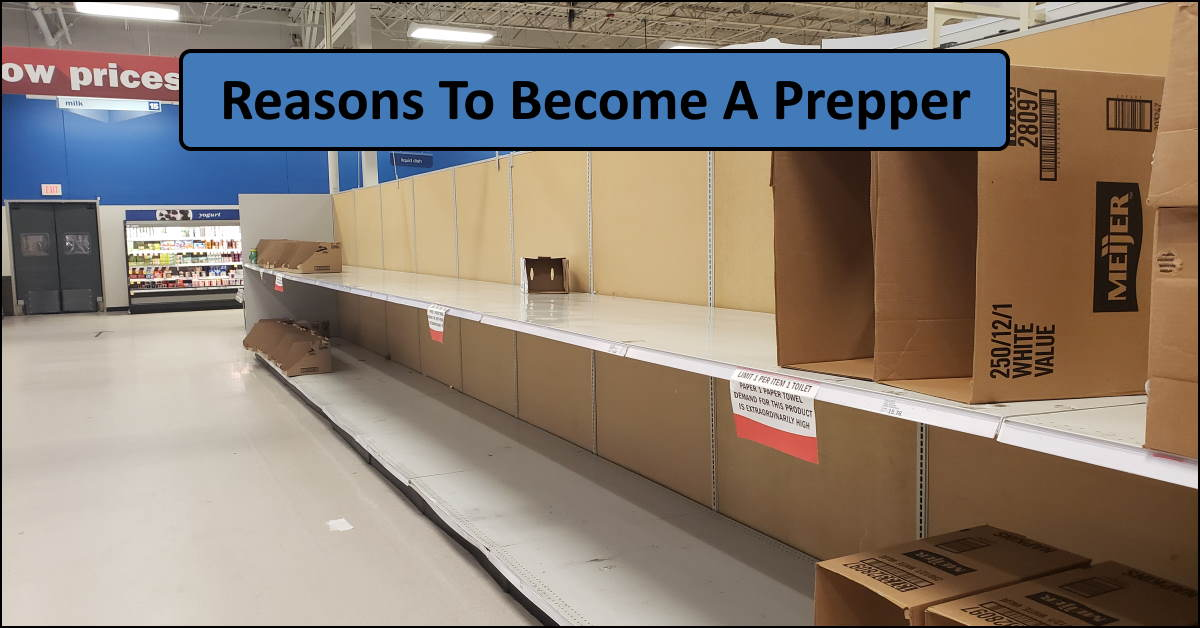 Why You Should Become A Prepper