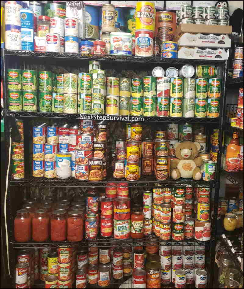 Image - Canned Vegies In Our Prepper Pantry