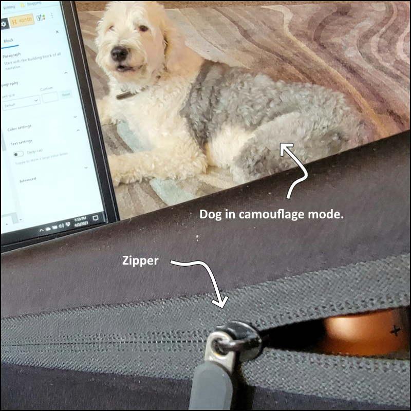 Image - Comecase Battery Organizer Storage Case Zipper