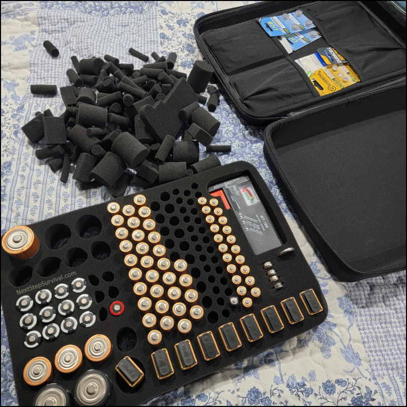 Image - Battery Organizer Removable Foam Insert