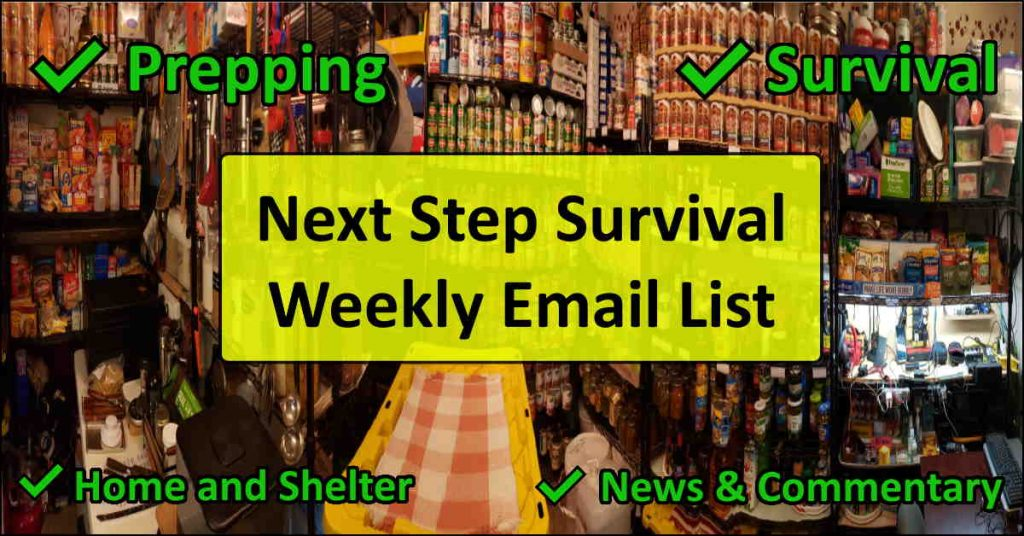 image - Next Step Survival Weekly Email List