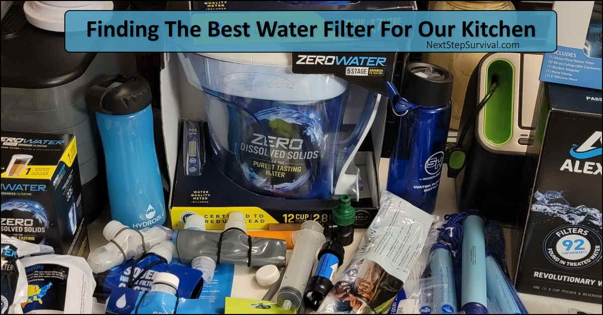 Read more about the article Finding The Best Water Filter For Our Kitchen – The ZeroWater Filter