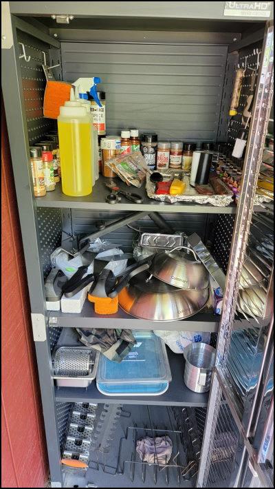 My Outdoor Kitchen Cabinet