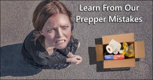 Read more about the article Top Ten Common Prepper Mistakes To Avoid