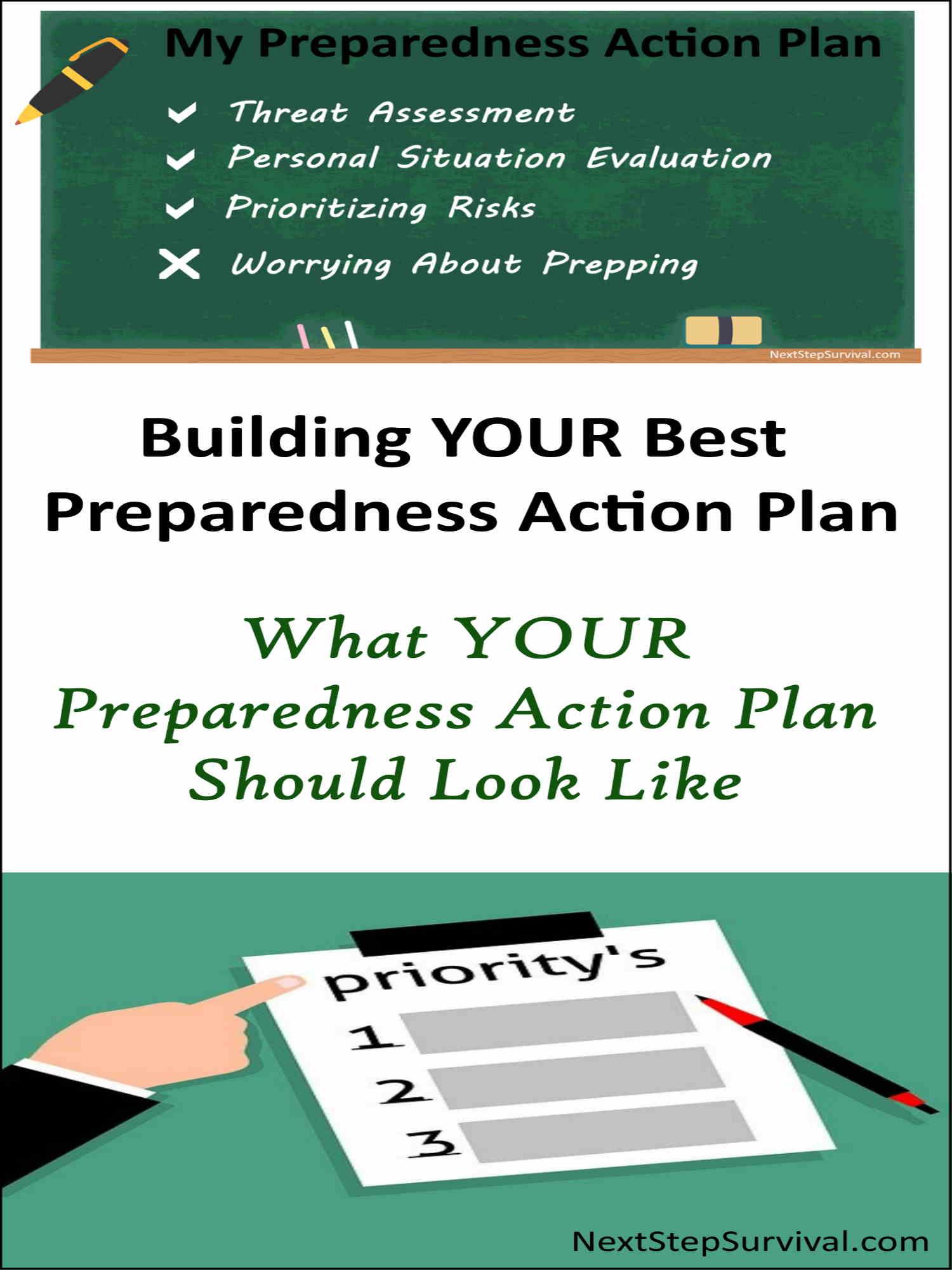 Pinterest Image - Preparedness Action Plan
