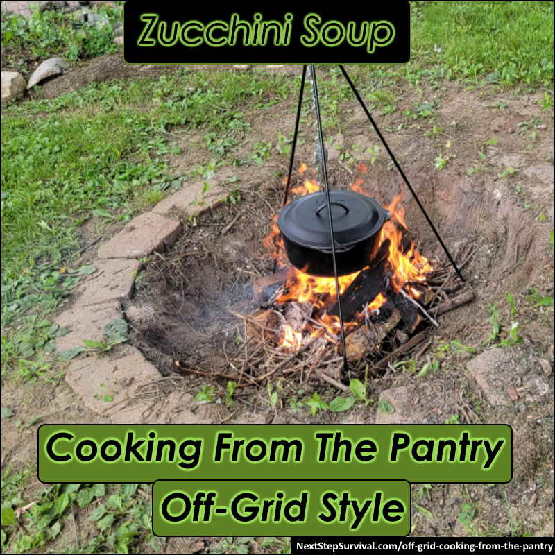 Image - Cooking From The Pantry - Zucchini Soup Off-Grid Style
