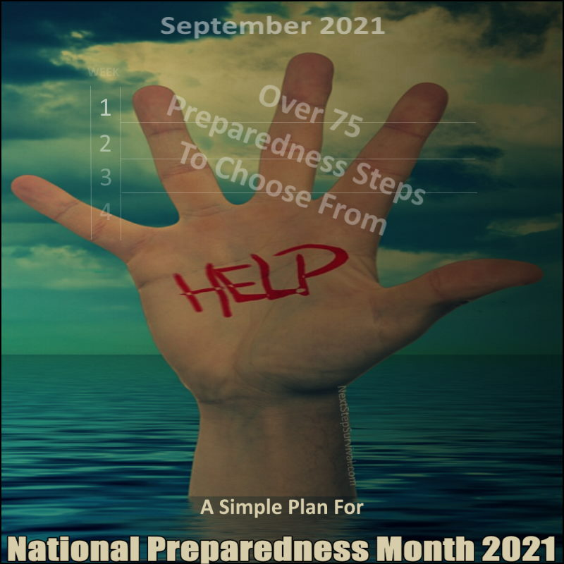 Instagram Image - A Simple Plan For National Preparedness Month 2021