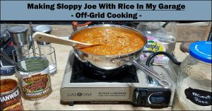 Read more about the article Cooking From The Pantry – One-Pot Sloppy Joe With Rice – Video