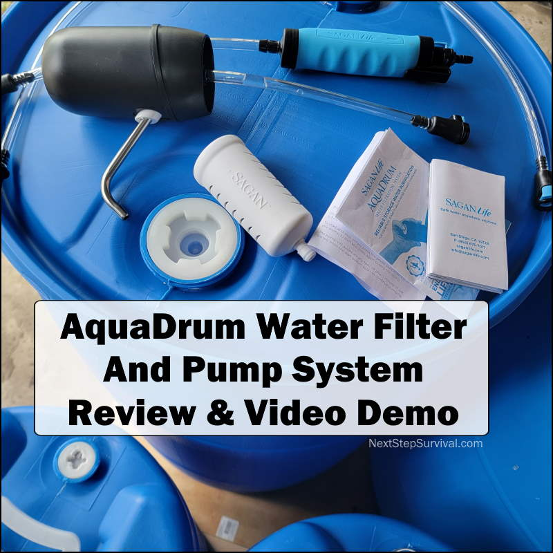 Instagram Image - AquaDrum Water Purification System Review & Demo