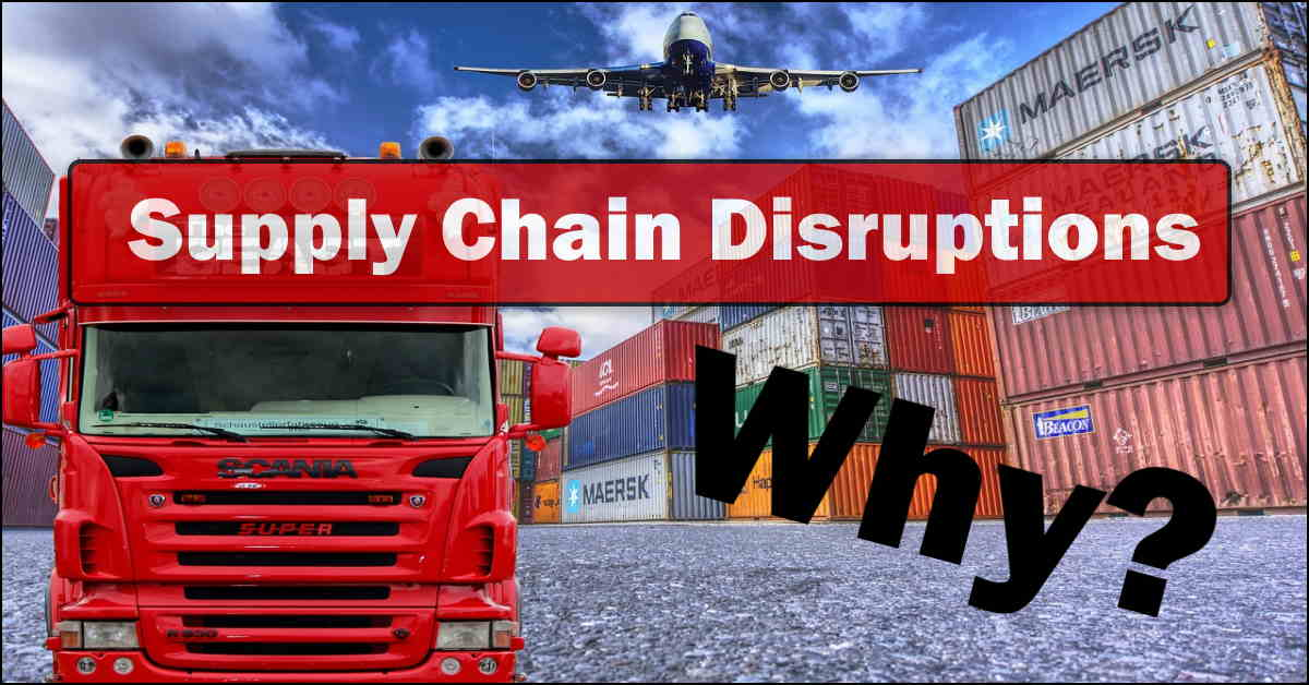 Read more about the article Supply Chain Disruptions. All You Need To Know.
